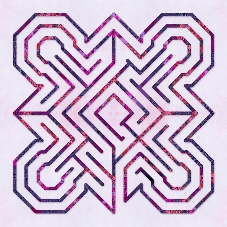 Ely - Feeling Fuchsia labyrinth - nancyaurandhumpf | ello