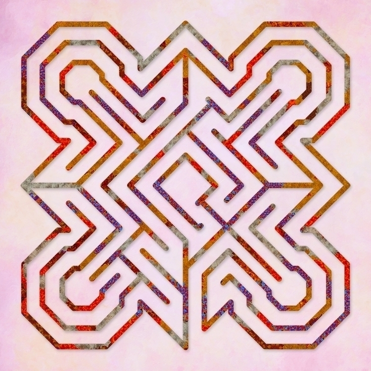 Ely - Sunrise labyrinth design  - nancyaurandhumpf | ello