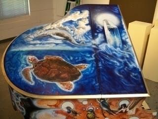 turtle, whale, crystal, piano - moondragon-3899 | ello