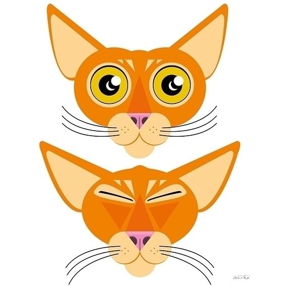 Rosso Rubino - cat, animation, characterdesign - mastra | ello