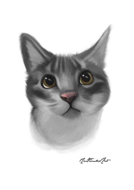DAY 6 - Bruma, sweetest kittens - marfandosart | ello