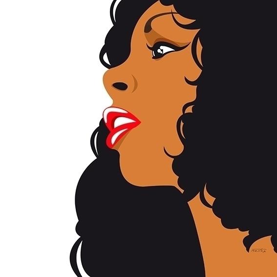 Donna Summer - donnasummer, illustration - mastra | ello