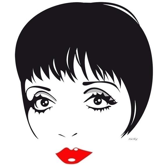 Liza Minnelli - lizaminnelli, illustration - mastra | ello