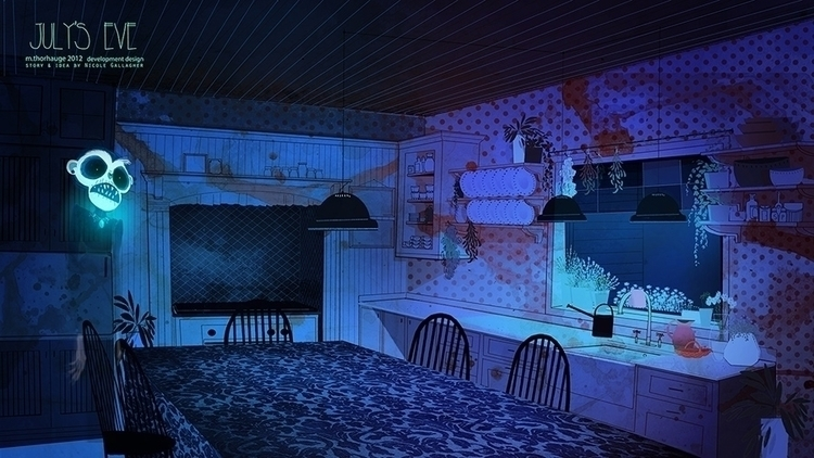 Concept art Eve - shortfilm pro - artbythorhauge | ello