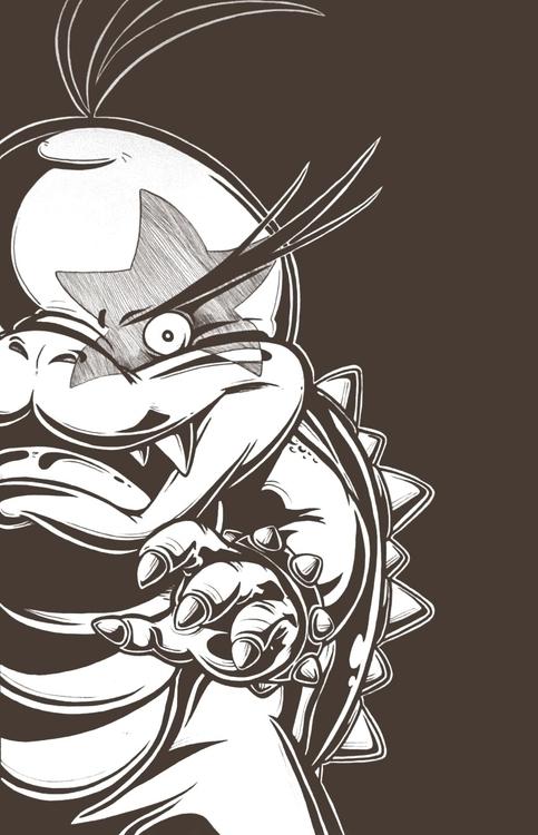 Morton Koopa, Jr. Super Mario 3 - mkayconnors | ello
