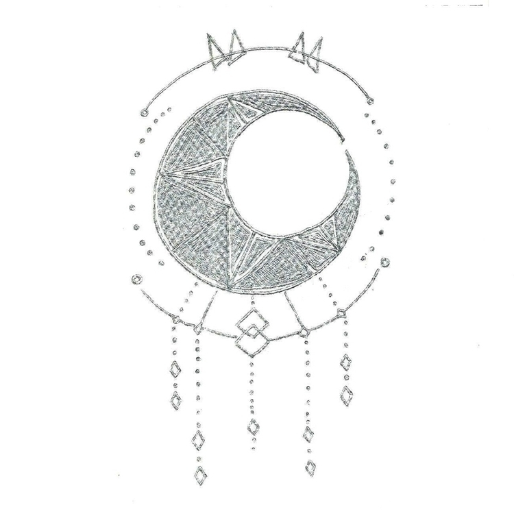 23 Moon - illustration, drawlloween2016 - hotshots2000   ello