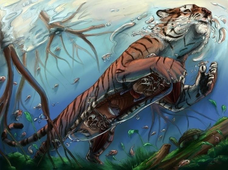 Tiger Submarine Story time: ske - katpowell | ello