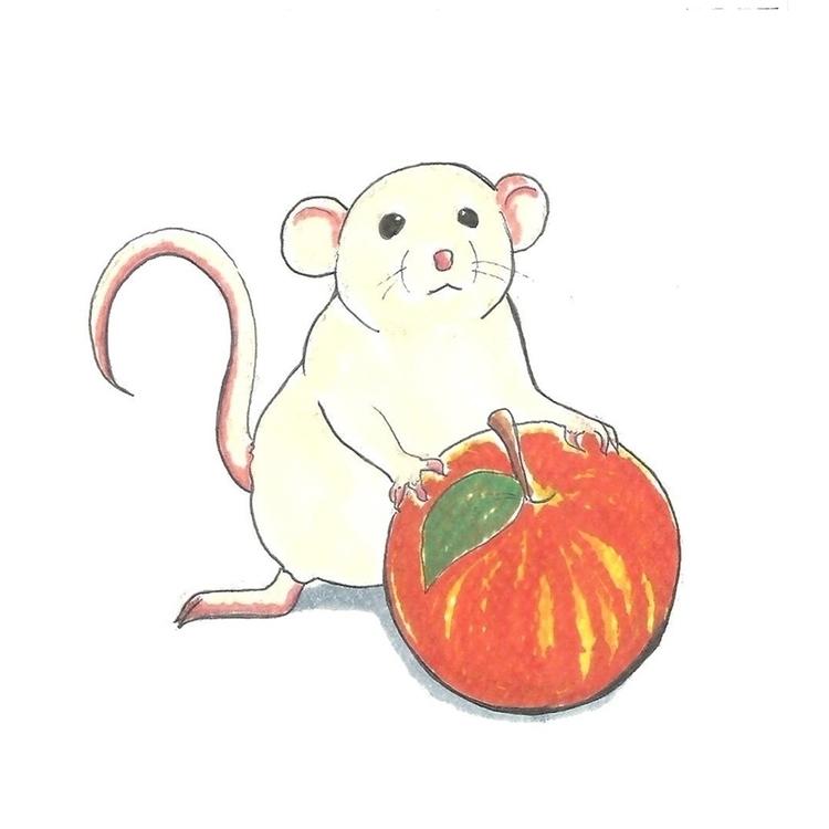 25 Rat - illustration, drawlloween2016 - hotshots2000   ello