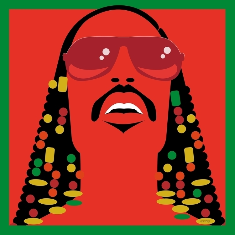 Stevie - steviewonder#illustration#drawing#design#fashion#colors#graphicdesign#stars - mastra | ello