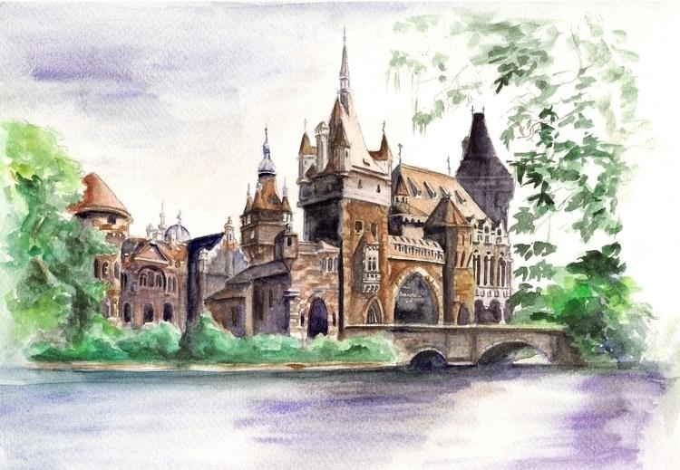 pictures Budapest 02 - illustration - aja007 | ello