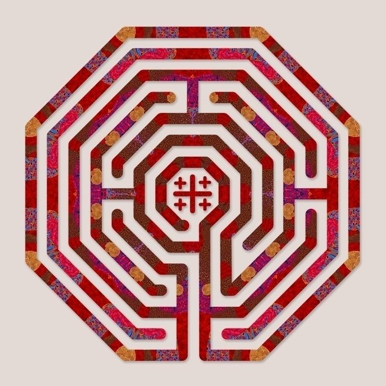 Cologne - Red Earth labyrinth d - nancyaurandhumpf   ello