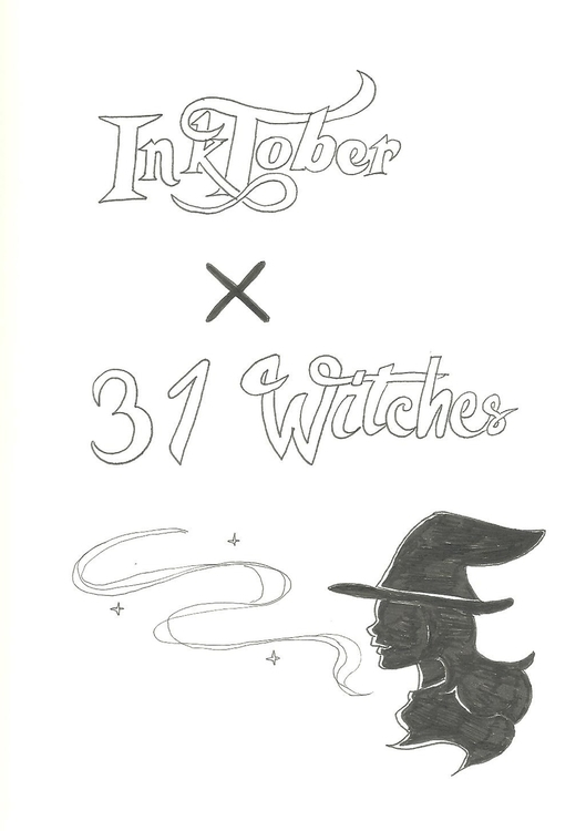 Inktober 31 witches - illustration - hotshots2000 | ello