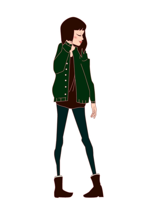 Marina cartoon portrait - lydilena | ello