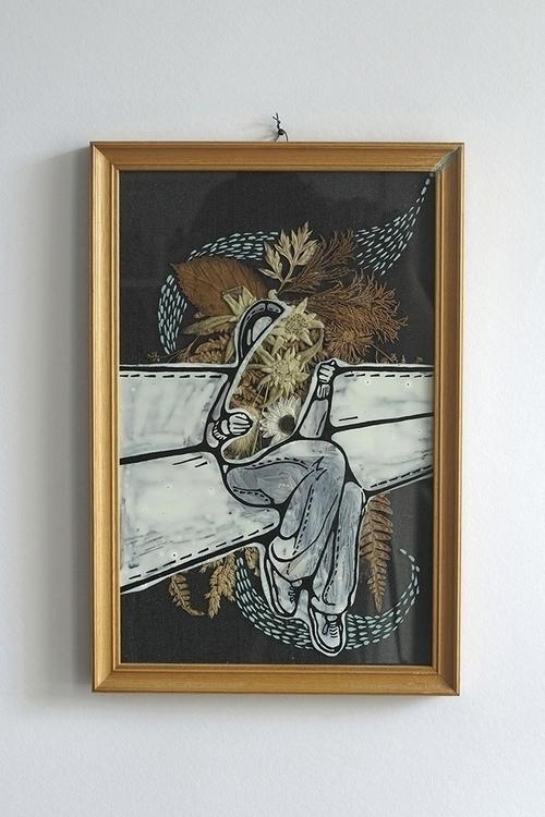 pillow karo knitter - illustration - karoknitter | ello