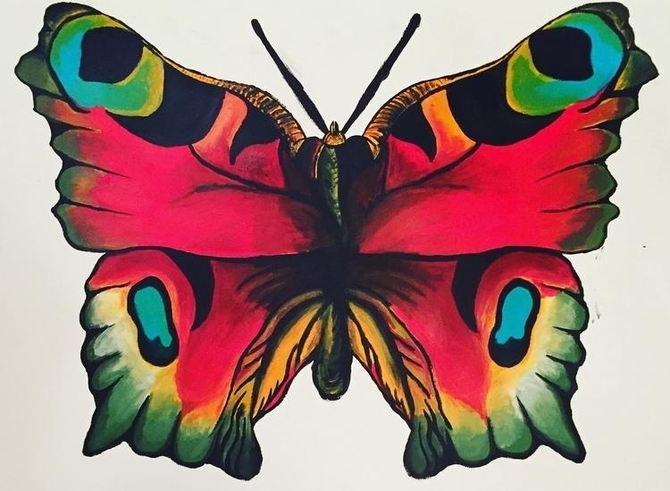 Acrylic, wingspan 2822 - acrylic - taylorfiltsch | ello