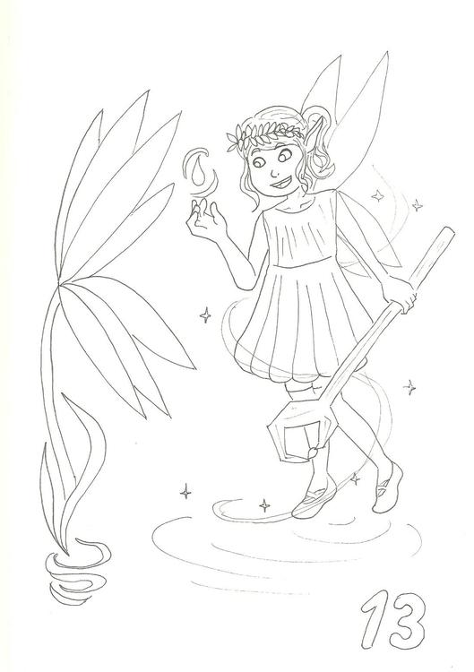 13. Pixie Sprite - illustration - hotshots2000 | ello