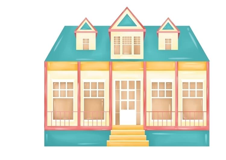 illustration, sweet, minthouse - diepduong   ello