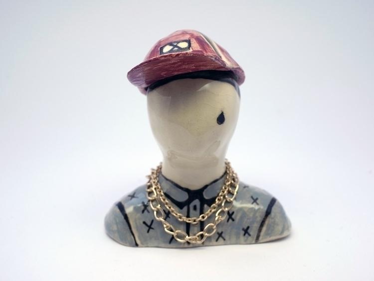 gangsta karo knitter - clay, bust - karoknitter | ello
