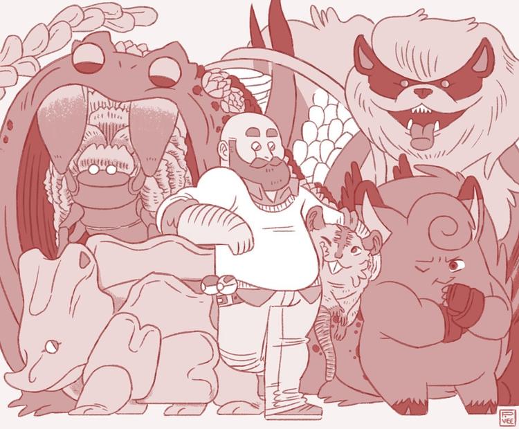 Personalized good ol' Pokemon R - petarvee | ello