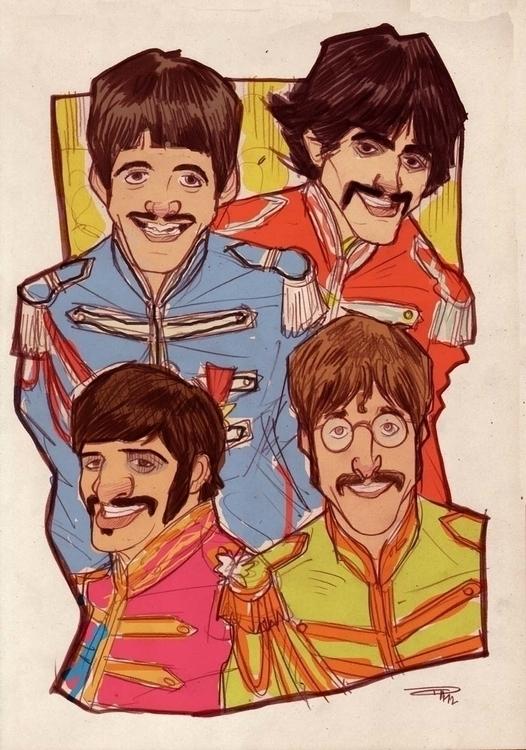 Beatles - Sgt Pepper era - thebeatles - denismedri   ello