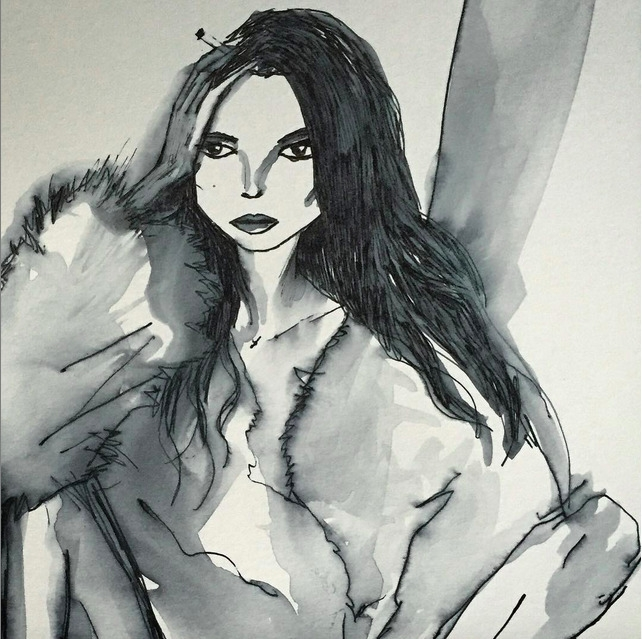 illustration, drawing, fashionillustration - eye_catches   ello