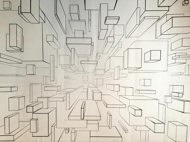 Perspective - perspective, art, drawing - jessicaredmond | ello