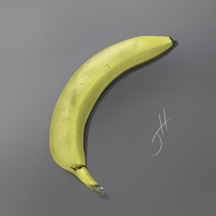 Banana Life Study - study, stilllife - fxscreamer | ello