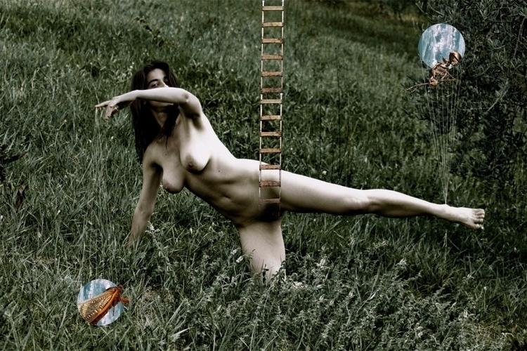 nude, surreal, bauhaus, collage - luisacatucci | ello