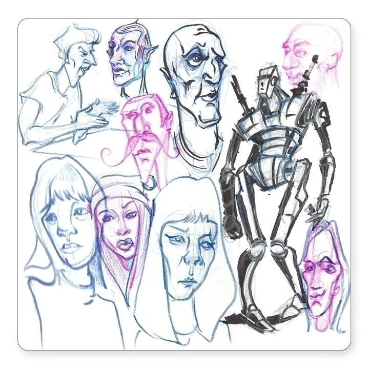 doodles bus - davidkelmer, prismacolorpencils - dkelmer | ello