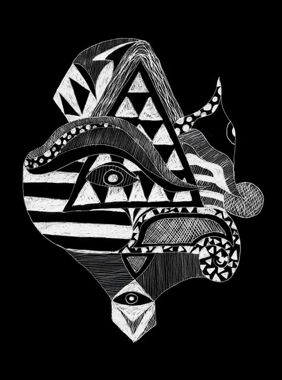 Abstract drawing - 1, abstract, pen - hppypnda | ello