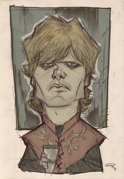 Tyrion Lannister  - tyrionlannister - denismedri | ello
