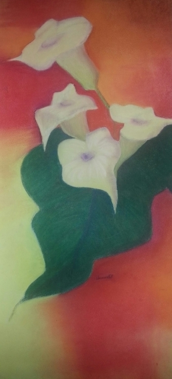 Lys Pastel sec Papier - lydiann | ello
