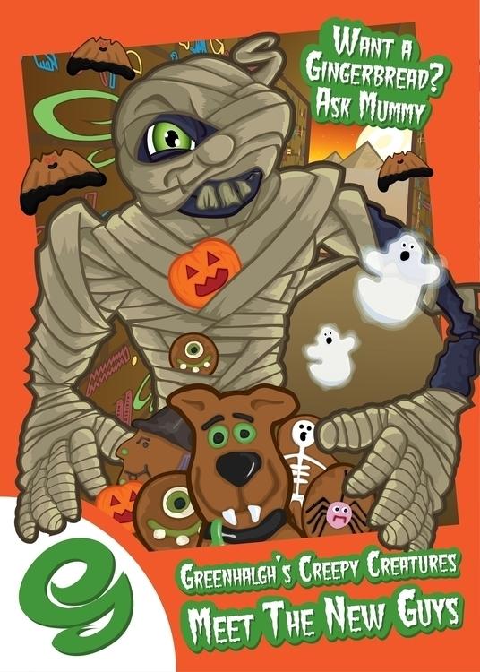 Greenhalghs Halloween campaign  - benlatham87   ello