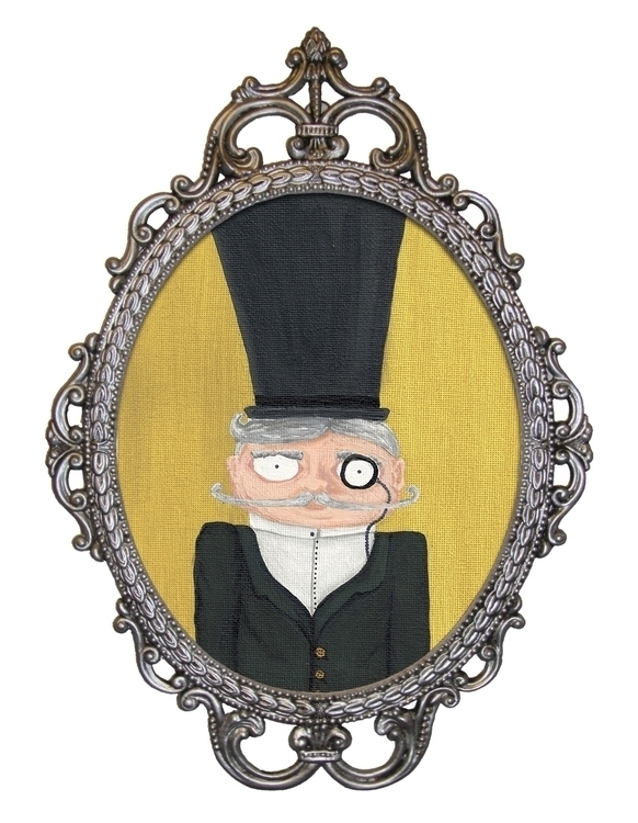 Sir Winston | Acrylic Painting - laceyleach | ello