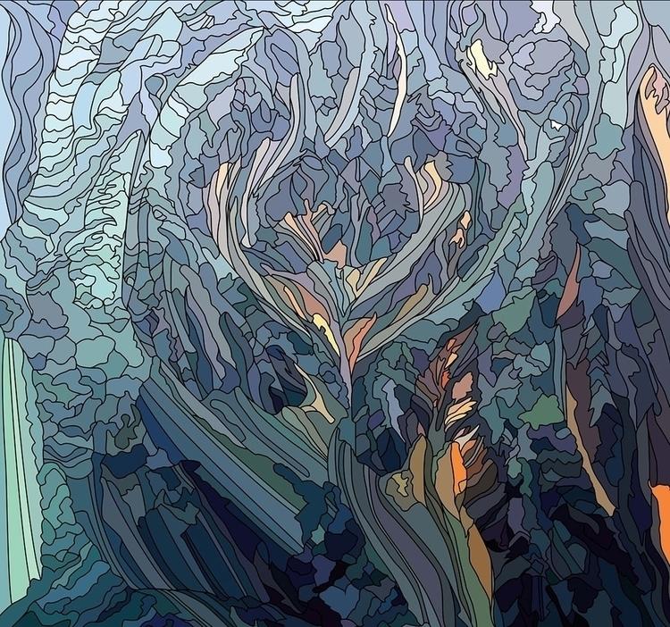 Frostfire - illustration, vectorart - nickolayapraksin | ello