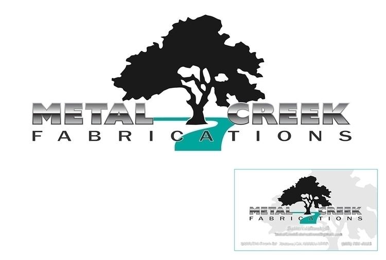 Metal Fabrication business - logo - hr411design | ello