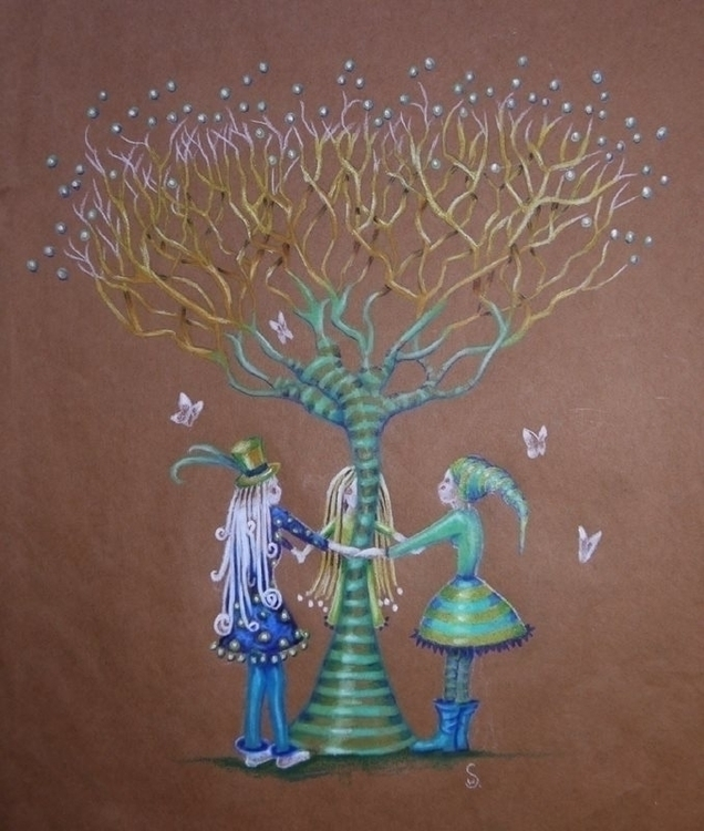 illustration, colourpencil, pencildrawing - susiewonfor | ello