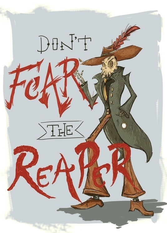 Fear Reaper - illustration, blueoystercult - nfiasche | ello