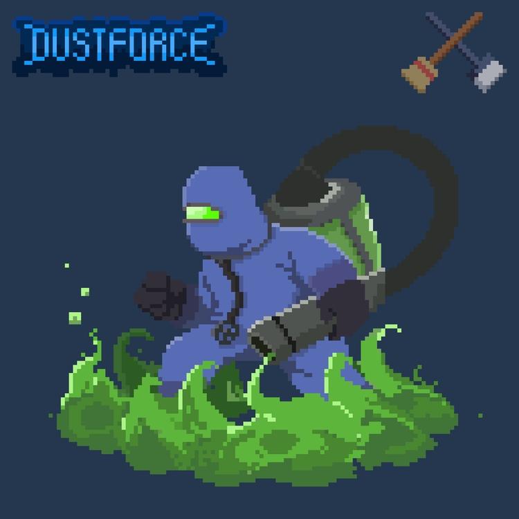 Dustforce Enemy - dustforce, pixelart - planckpixels | ello