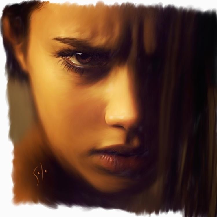 hurt painting solo - illustration - soloart-1219 | ello