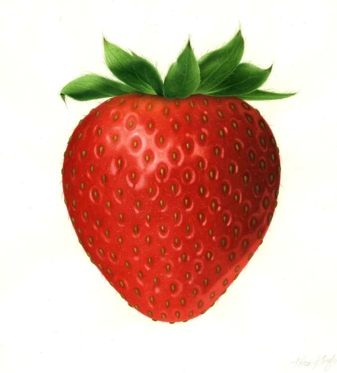Strawberry - karenkluglein | ello