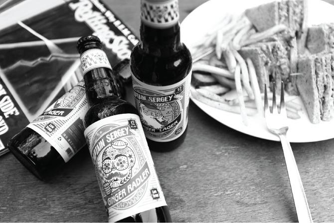 Captain Sergey | Beer Label - illustration - yingxie | ello
