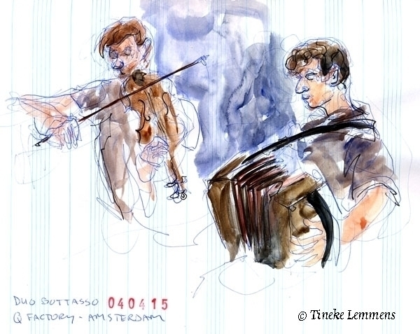Duo Bottasso - musicians, violin - tineke-1461 | ello
