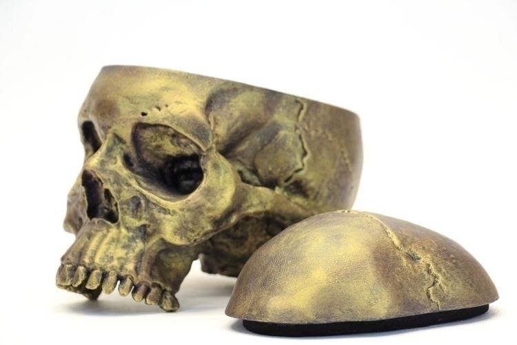 Skull - #skull, skulls, sculpture - mascaron | ello