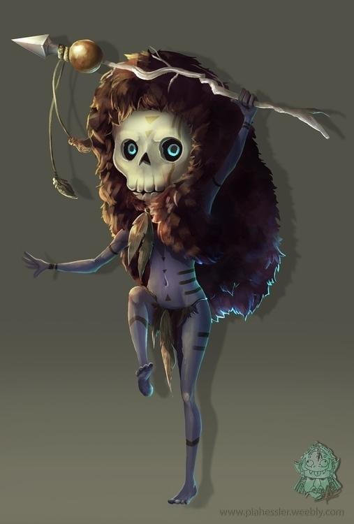 Shaman - characterdesign, shaman - piahessler | ello