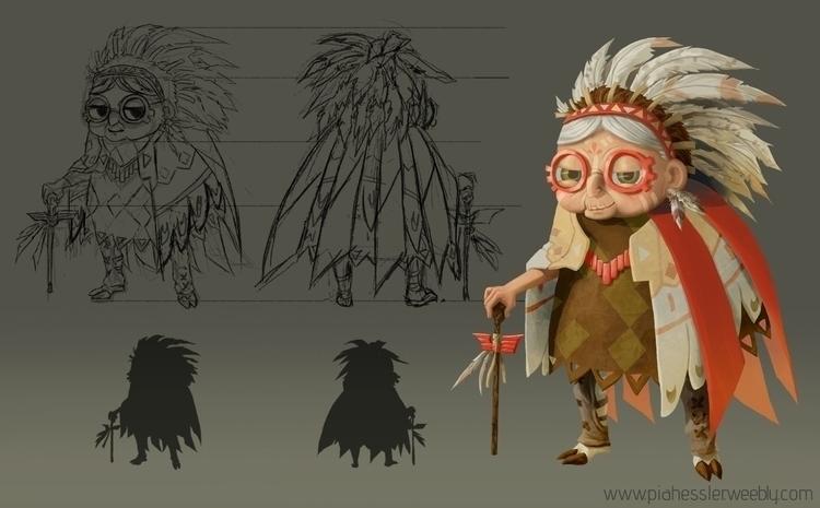 Character Sheet - characterdesign - piahessler | ello