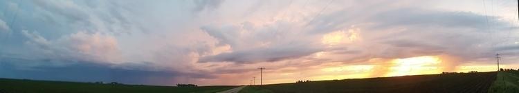 panorama, panoramic, sunrise - alyssaredenius | ello