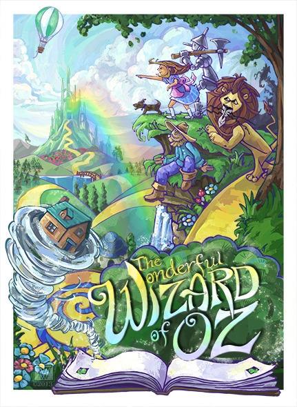 Wonderful Wizard Oz painted Tra - tracivw | ello