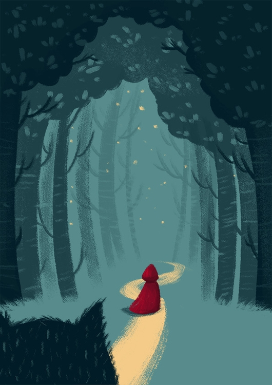 Red Riding Hood - littleredridinghood - danielasosa | ello