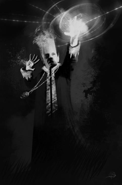 elf wizard - character, illustration - attianart | ello
